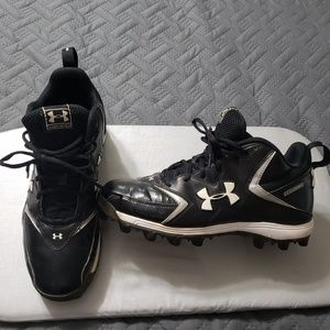 Men's Under Armour cleats.